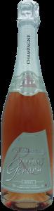 Bouteille de Champagne Charles Gérard cuvée Rosé